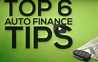 Top 6 Auto Finance Tips