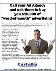 Power of Word  of Mouth Advertising